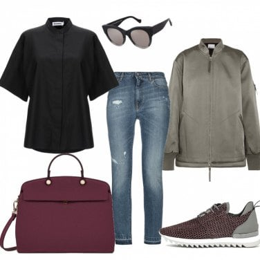 Outfit Casual with special bag