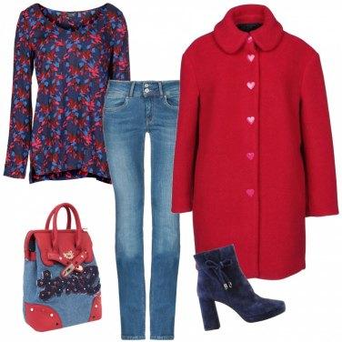 Outfit Un amore di cappottino