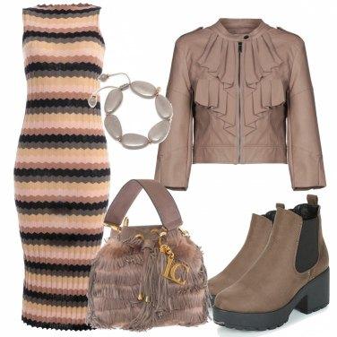Outfit L\' abito in maglia