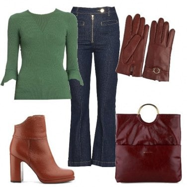 Outfit Carismatica in jeans!