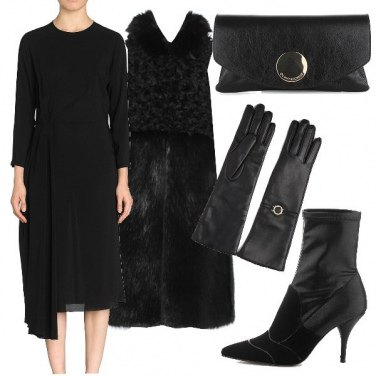 Outfit Chic in total black