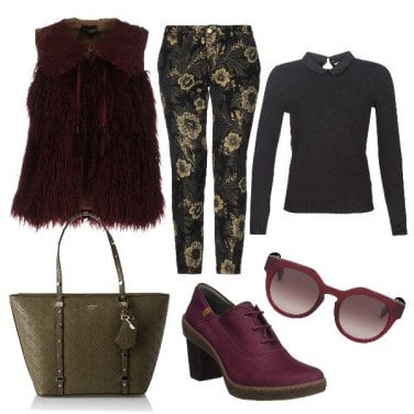 Outfit Chic in stile \'70