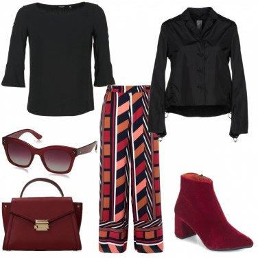 Outfit Pantaloni palazzo