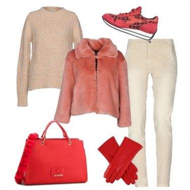 Outfit Scarpe e borsa super fashion
