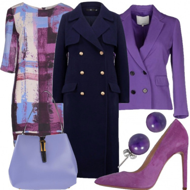 Outfit Aspettando le violette