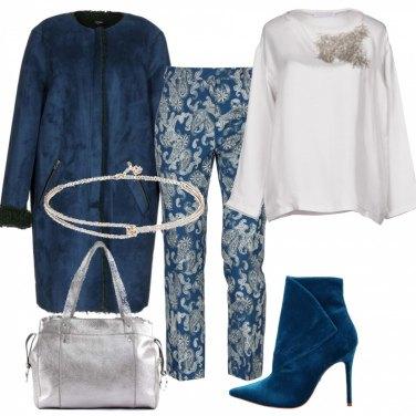 Outfit Pantaloni fantasia