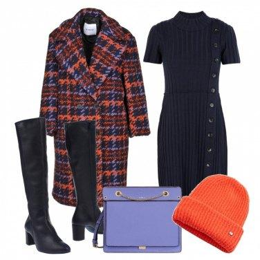 Outfit Il vestito di maglia