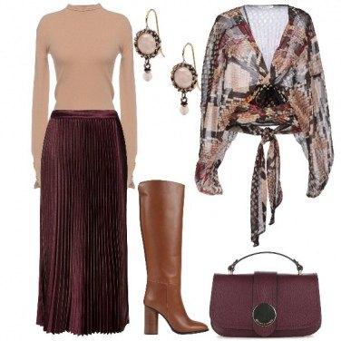 Outfit Morbide sovrapposizioni