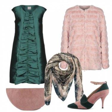 Outfit Rosa e verde: perché no?!?