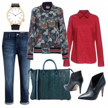 Outfit Orologio maschile e stiletto