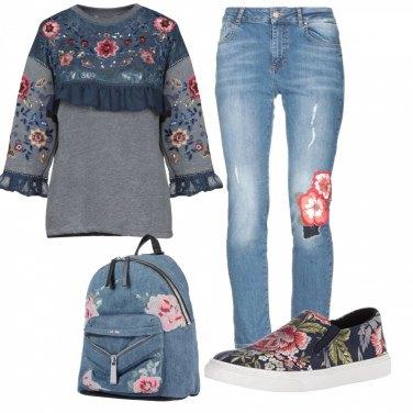 Outfit Ispirazione folk