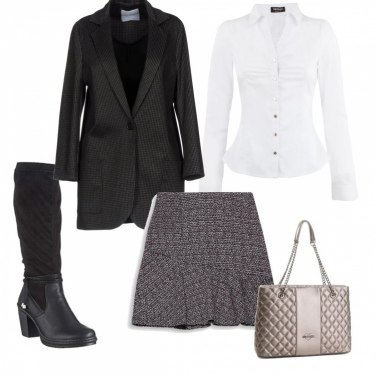 Outfit Il cappotto e lo stivale