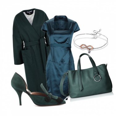 Outfit Verde petrolio ...
