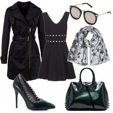 Outfit Un tocco di verde trendy