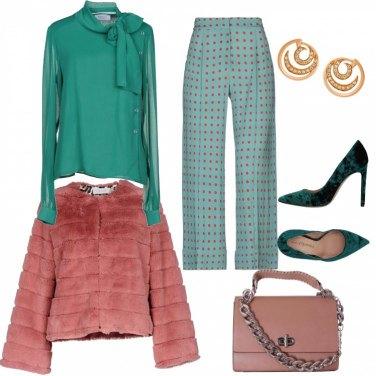 Outfit I pantaloni fantasia