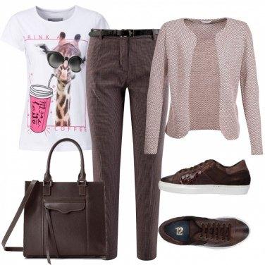 Outfit Comoda Chic e Glam