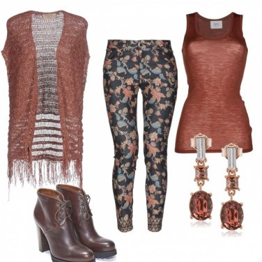 Outfit Brown Fantasy