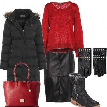 Outfit Inverno, esterno giorno