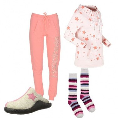 Outfit Domenica d\'inverno a casa, relax