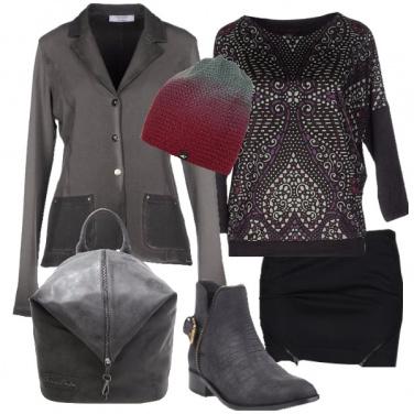 Outfit Minigonna e comodità