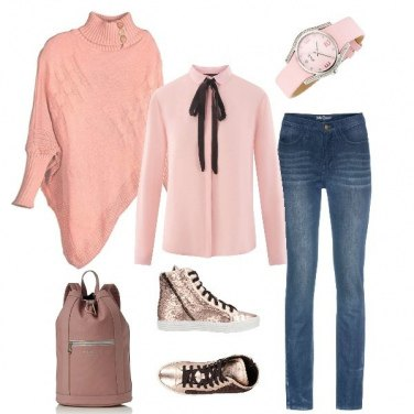 Outfit Bon Ton in sneakers