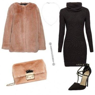 Outfit La borsa rosa