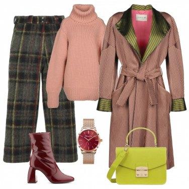 Outfit Un caldo pantalone scozzese