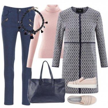 Outfit Comoda con glam