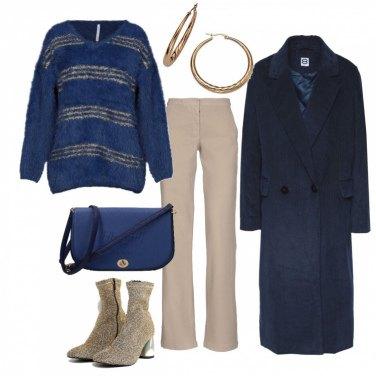 Outfit Il cappotto in velluto