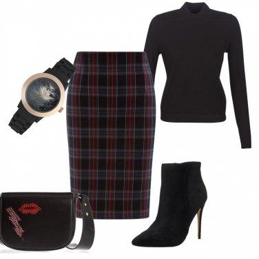 Outfit Loungette tartan
