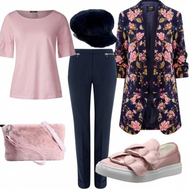 Outfit Una fantastica giacca a fiori