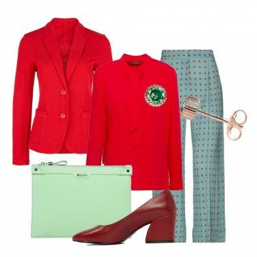 Outfit Il mio bon ton dai colori forti