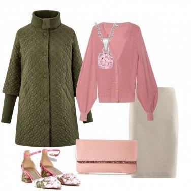Outfit Cappotto trapuntato