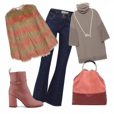 Outfit Toni d\'autunno