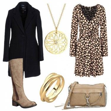 Outfit Classico cappotto nero