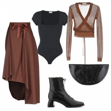 Outfit Trendy-chic