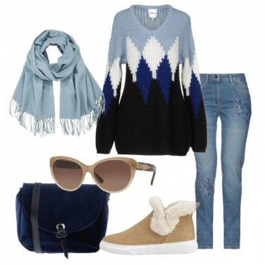 Outfit Un caldo pullover