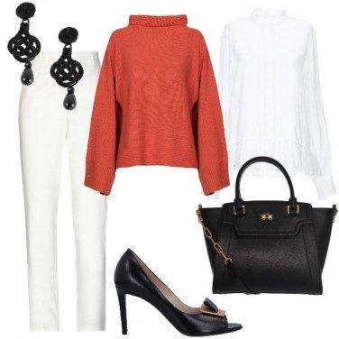 Outfit Bianco e colore