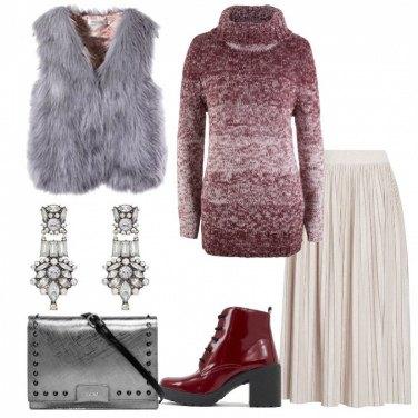 Outfit Un pullover avvolgente
