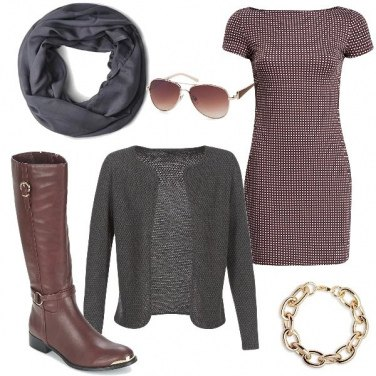 Outfit Lo stivale marrone