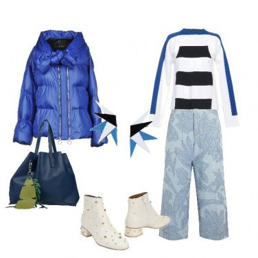 Outfit Blu d\'inverno