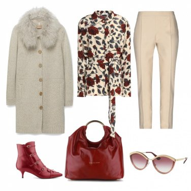 Outfit Stivaletto red