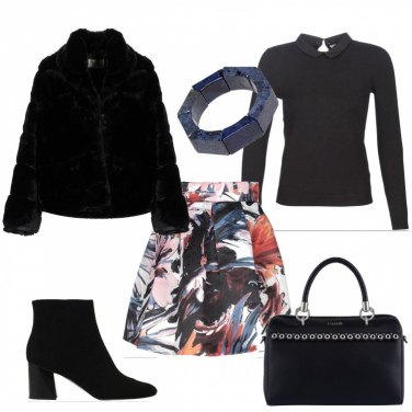 Outfit Pieghe colorate