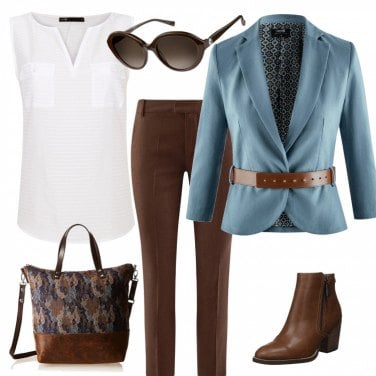 Outfit Comoda e trendy per l\' ufficio
