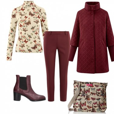 Outfit Materasse\' e farfalline