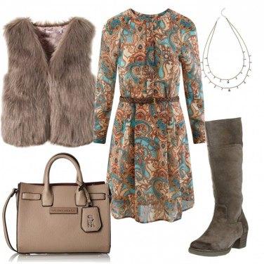 Outfit Boho & ecofur