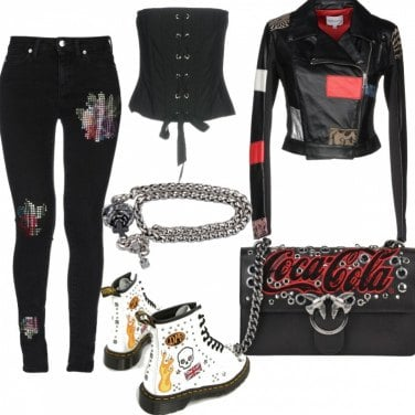 Outfit Stay rock!