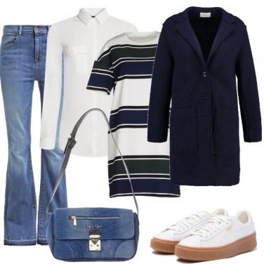 Outfit Street style per il fine settimana