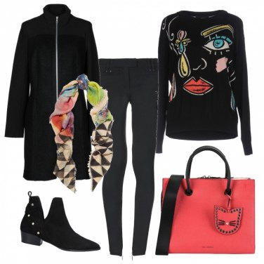 Outfit Cappotto trendy