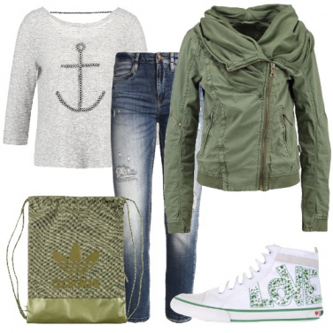 Outfit Amore di sneakers